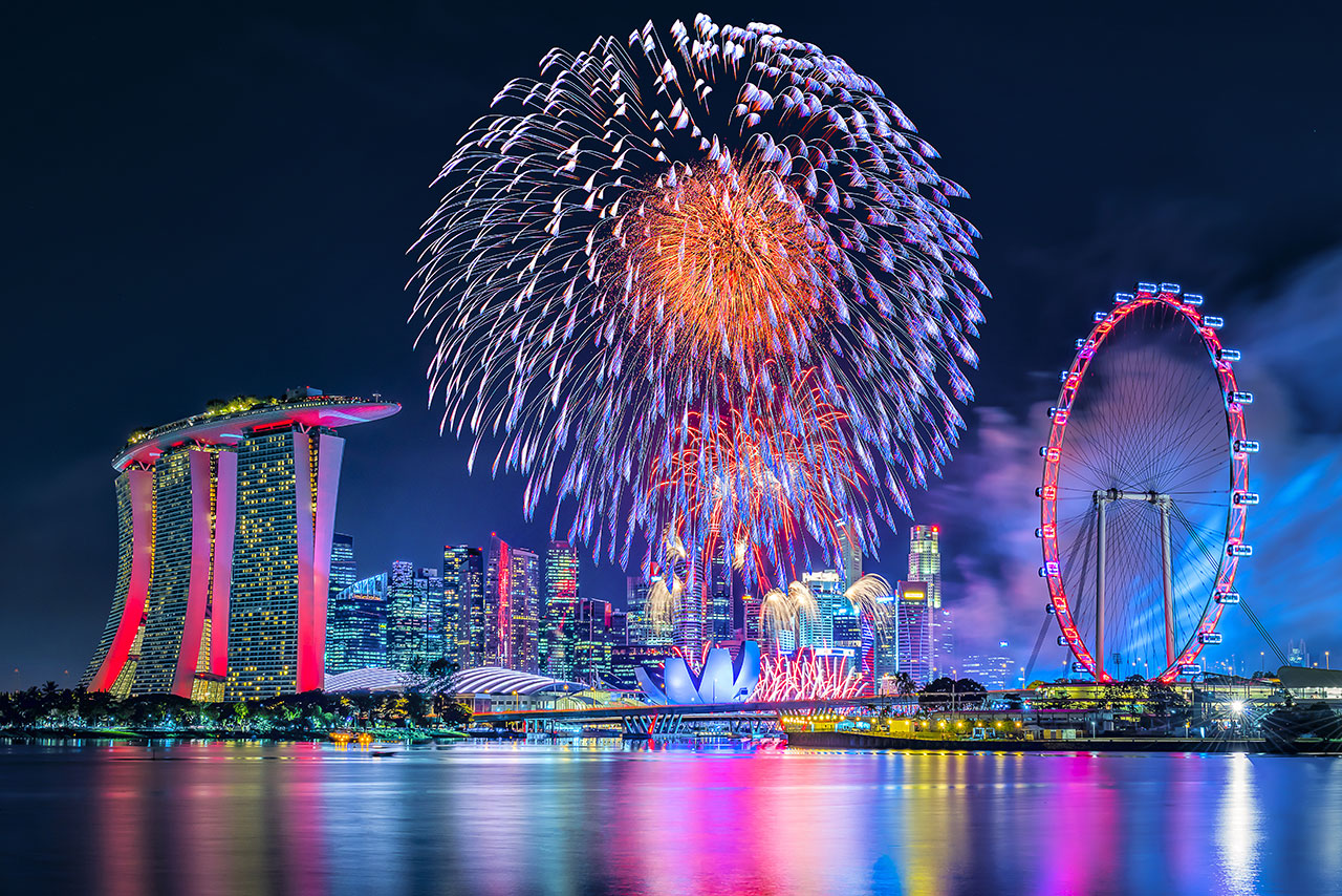 everyone knows the biggest new years eve celebration in singapore takes place in the marina bay area locals and tourists from across the globe make their