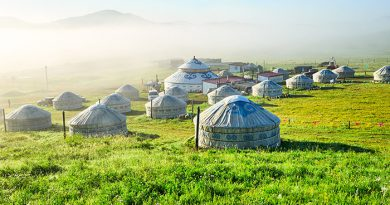 Inner Mongolia, the unseen grassland and the land of clear bright sky