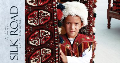FOLLOW THE ANCIENT SILK ROAD AND ITS RICH HISTORY